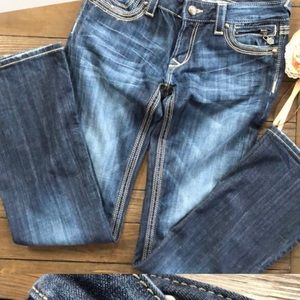 Express Jeans - Reebok by express denim jeans 4S/26 size